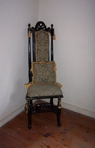 CT06 MCU #2 Antique Dutch Chair WG  1-10-7