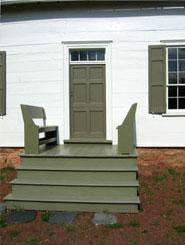 Wyckoff-Garretson House Porch.
