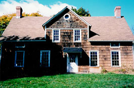 Wyckoff-Garretson House Before Restoration in 1998.